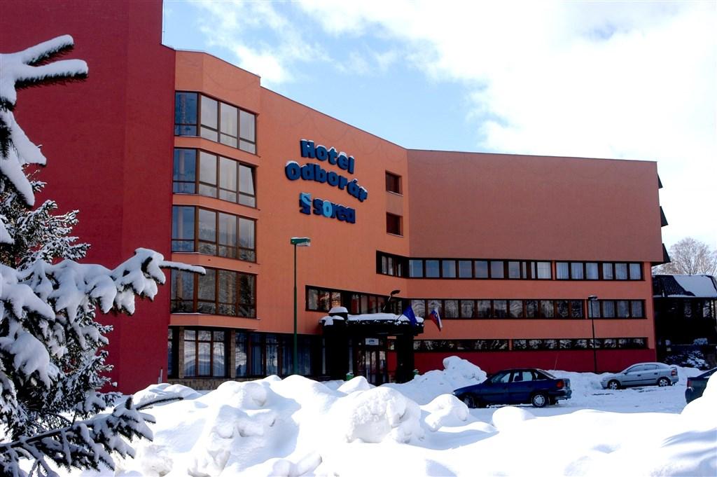 Hotel Titris *** - Vysoké Tatry -Tatranská Lomnica -exterér - zima - Hotel TITRIS -