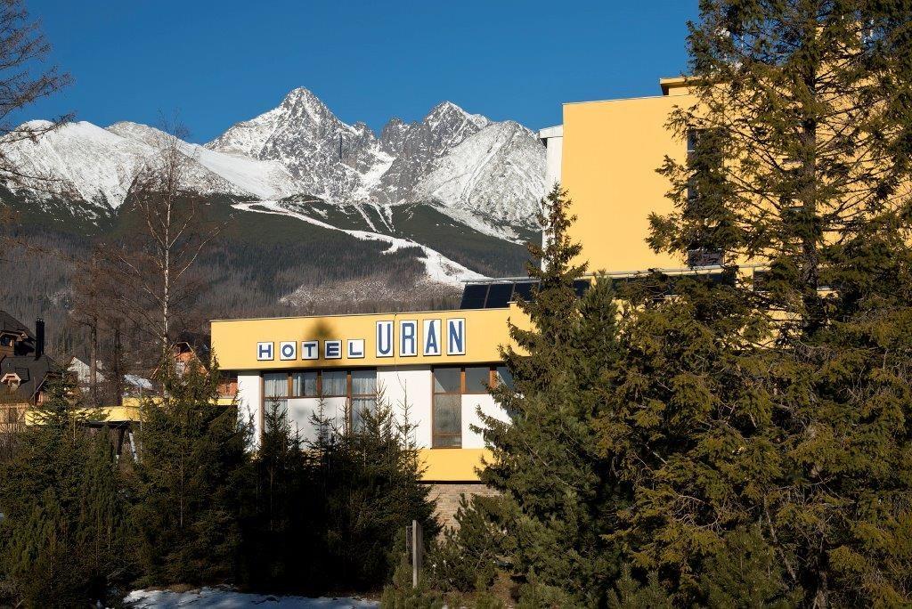 Hotel Urán*** - Tatranská Lomnica - exteriér - zima - Hotel URÁN -